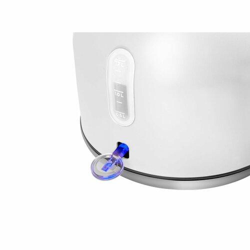 Concept RK3330 rýchlovarná kanvica RETROSIGN 1,7 l, biela