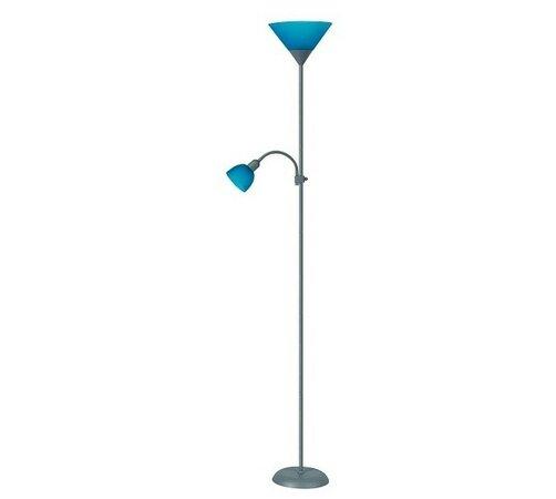 Stojací lampa Rabalux Action 4025 stříbrná/modrá, modrá, 180 x 23 cm