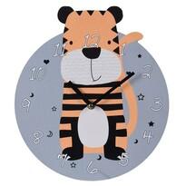 Koopman Zegar ścienny Tygrys, śr. 28 cm