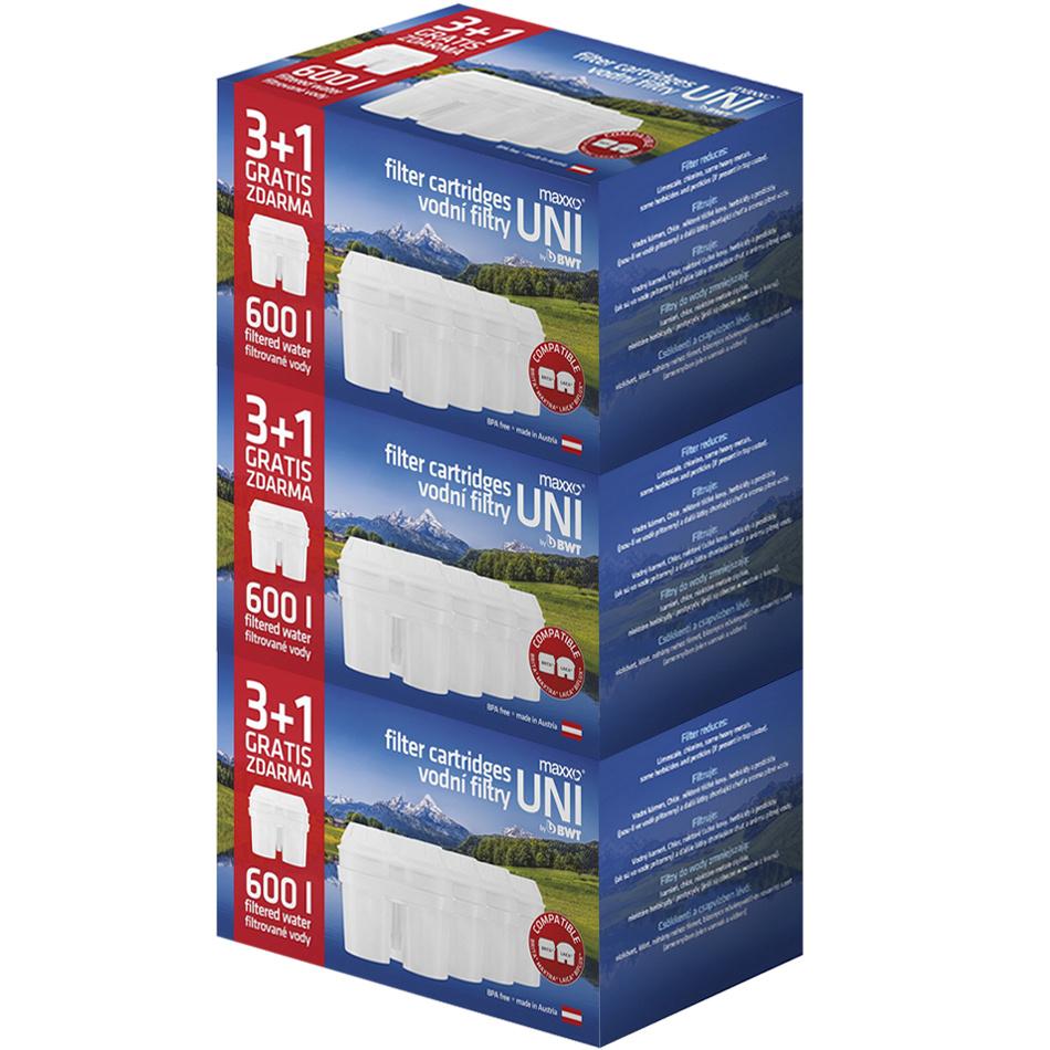 Maxxo UNI vodné filtre 12 ks
