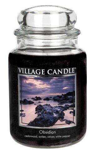 Village Candle illatgyertya, Titokzatos Obszidián - Obsidian, 645 g