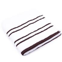 """Ręcznik """"Snow"""" brązowy, 70 x 140cm"""