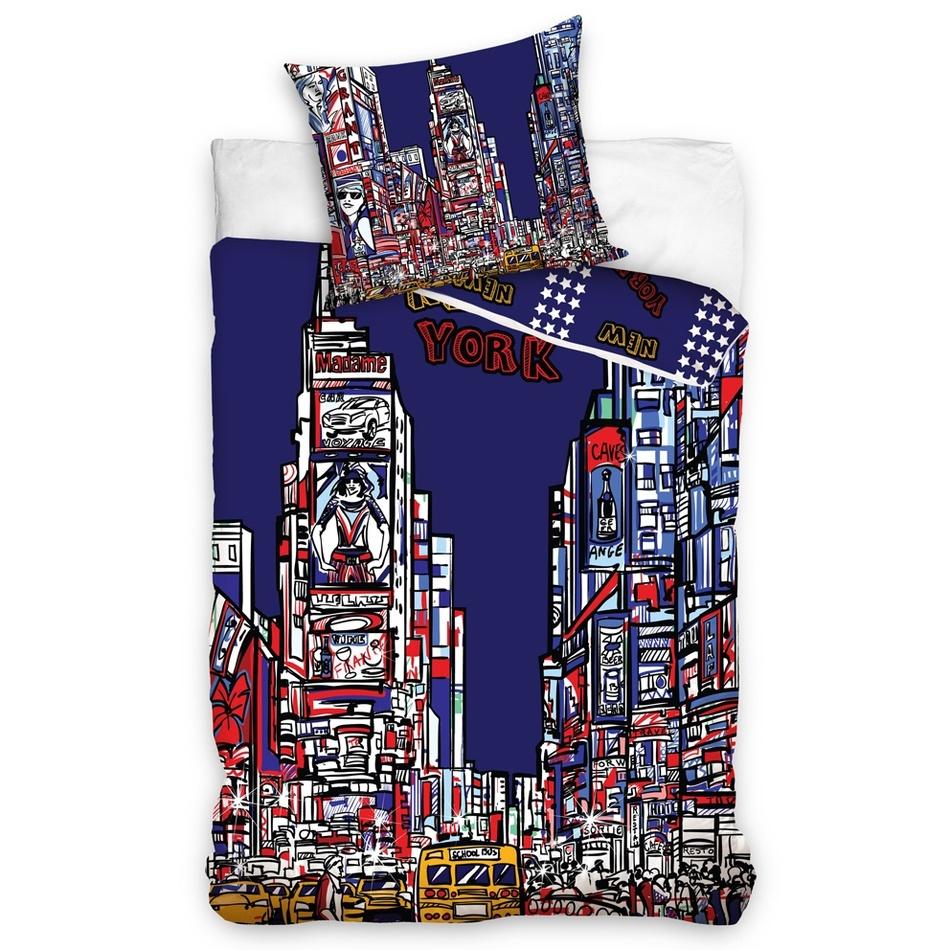 Carbotex Obliečky New York Times Square 140x200 70x80