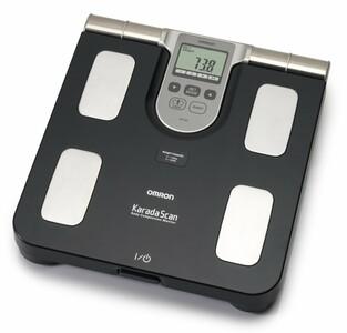 OMRON BF508 monitor skladby lidského těla s lékařskou váhou
