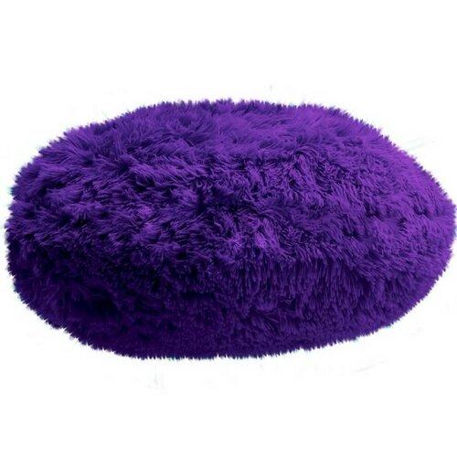 Domarex Polštář kulatý Queen fialová, 50 cm