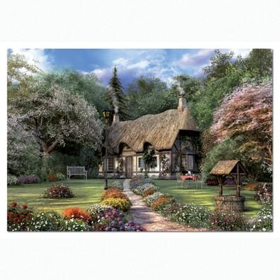 Puzzle Domek v přírodě