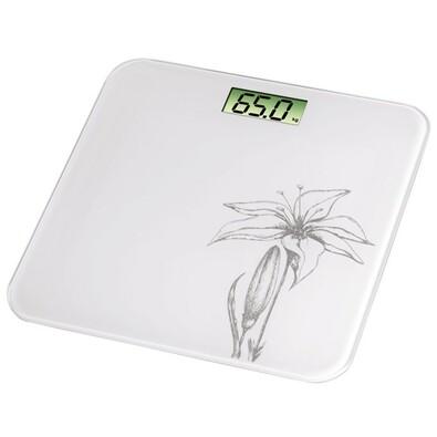 Osobní digitální váha Liliana s černou lilií