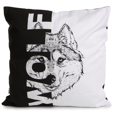 Altom Povlak na polštář Wolf, 40 x 40 cm