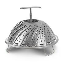 Orion Suport pliabil din oțel inoxidabil pentru gătit la abur