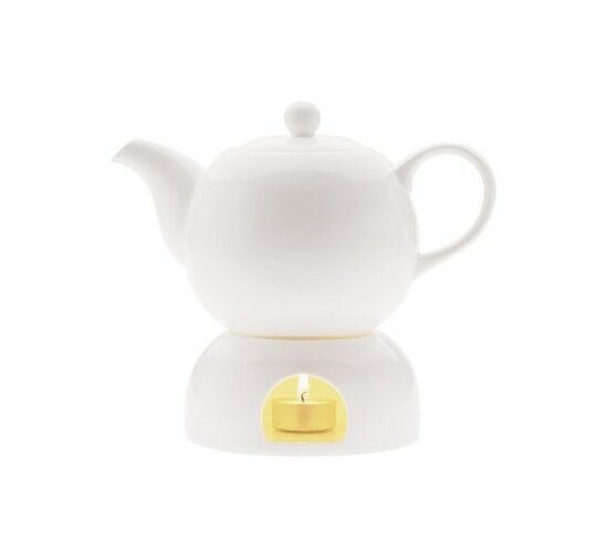 Čajník a ohřívač White Basics 1 l - Maxwell&Williams