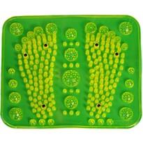 Akupresurní masážní podložka s magnety, zelená