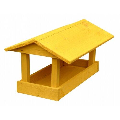 Kŕmidlo pre vtáčiky Home, žltá