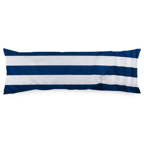 4Home Povlak na Relaxační polštář  Náhradní manžel Navy, 45 x 120 cm