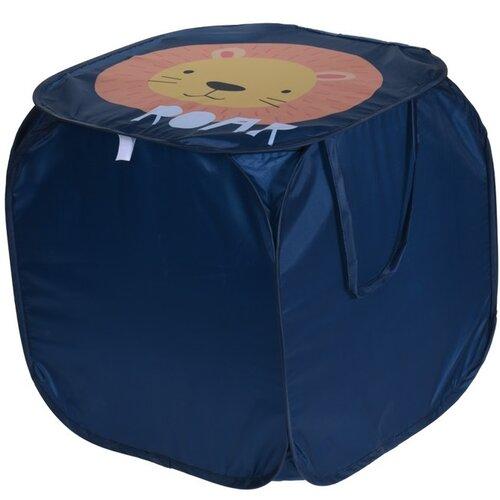 Koopman Úložný box Animal safari tmavě modrá