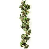 Mű szőlőlevelek zöd-szürke, 170 cm