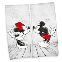 Mickey Minnie törölköző, 80 x 180 cm, 2 db-os szett