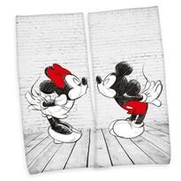 Osuška Mickey & Minnie, 80 x 180 cm, sada 2 ks