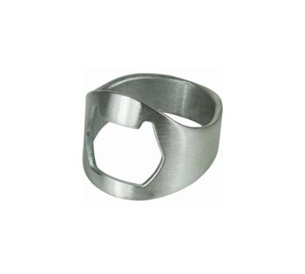 Prsten s otvírákem, stříbrná