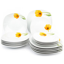 Mäser18-częściowy komplet stołowy Tulip