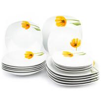 Serviciu de masă Domestic Tulip, 18 piese