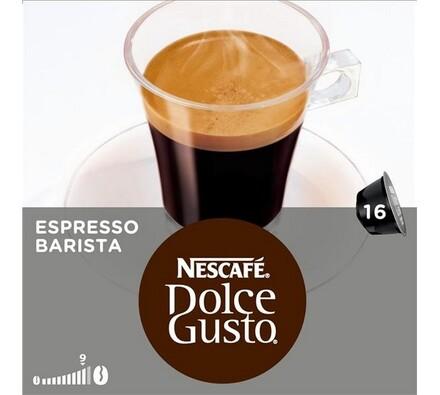 Kapsle Dolce Gusto, Espreso Barista, 16 ks, Nescaf
