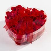 Mýdlové květy červené