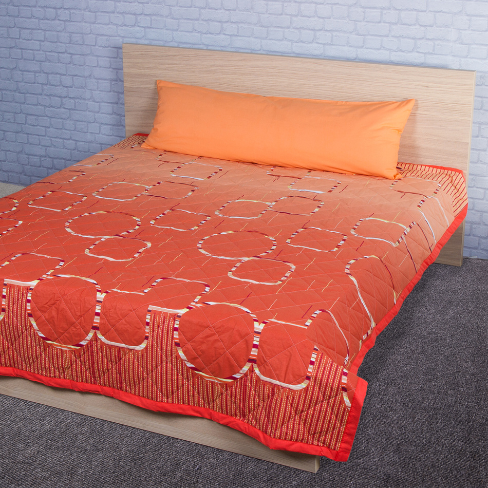 Night in Colours Přehoz na postel Myra oranžová bavlna