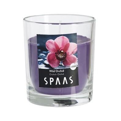 SPAAS Vonná svíčka ve skle Wild Orchid, 7 cm