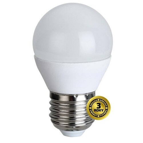 Solight LED žiarovka, miniglobe, 4W, E27, 3000K, 310L