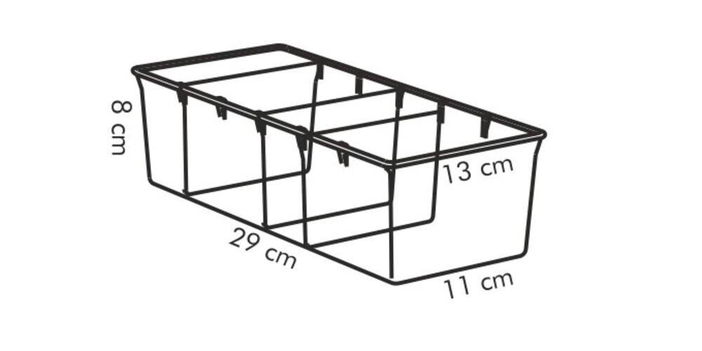 Produktové foto Tescoma Zásobník na sáčky s kořením 4FOOD 29x13 cm