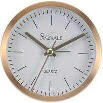Ceas deșteptător Segnale, auriu, 9  x 2,5 cm