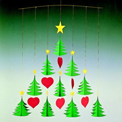 Kinet Christmas Trees 10, 50 cm, zielony