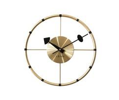 Ceas de perete Lavvu Compass LCT1101 auriu, diam. 31 cm