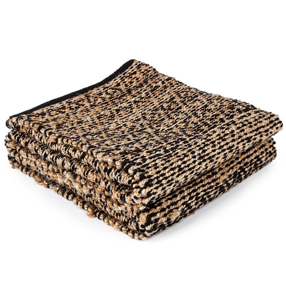 Koopman Tkaný koberec Juta hnědá, 120 x 180 cm