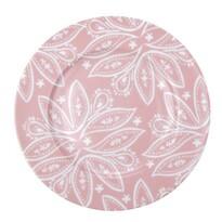 Florina Porcelánový dezertní talíř Orient 19 cm, růžová