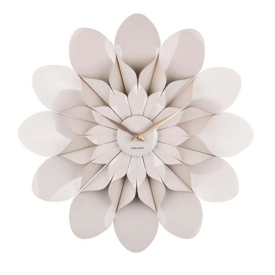 Karlsson 5731GY dizajnové nástenné hodiny, pr. 60 cm
