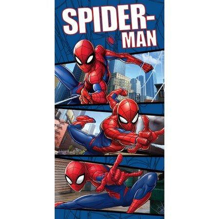 Prosop Jerry Fabrics Spiderman blue 02, 70 x 140 cm