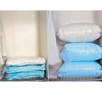Vakuové pytle na oblečení a peřiny sada 5 ks
