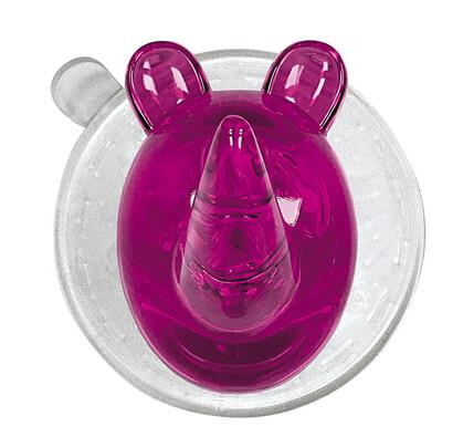 Kleine Wolke Háčik Crazy Hooks Ricco Rhino ružová