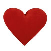 Vankúšik Srdce červené, 42 x 48 cm
