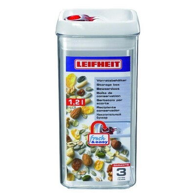 Leifheit Fresh & Easy dóza na potraviny 1,2l