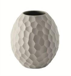 ASA Selection váza Carve 12 cm světle šedá