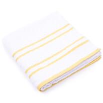 """Ręcznik """"Snow"""" żółty, 70 x 140cm"""