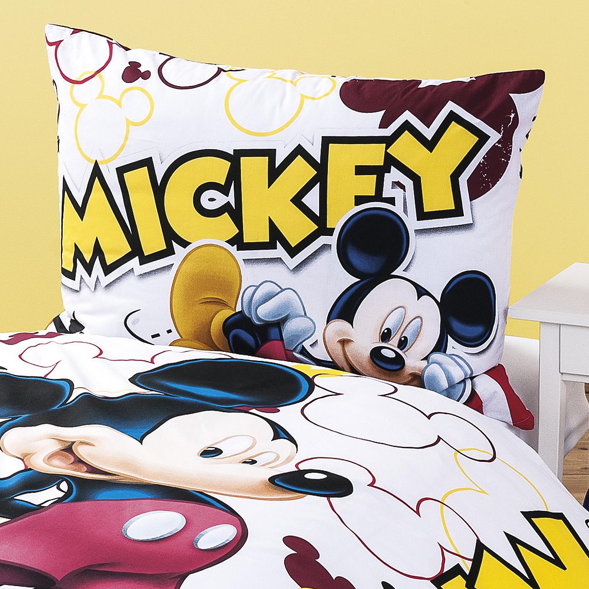 jerry fabrics d tsk bavln n povle en mickey 2014 140 x 200 cm 70 x 90 cm 4home pohodl. Black Bedroom Furniture Sets. Home Design Ideas