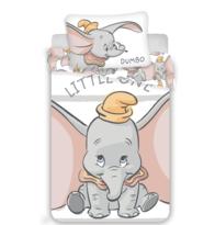 Gyermek pamut ágynemű kiságyba Dumbo stripe, 100 x 135 cm, 40 x 60 cm