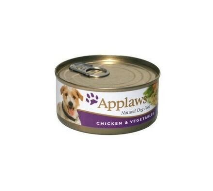 Applaws konzerva pro psy 156 g - kuře a zelenina