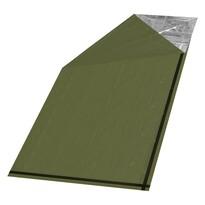 Pătură izotermică Cattara SOS verde,200 x 92 cm