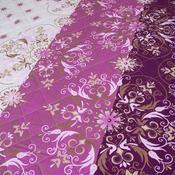Narzuta na łóżko Alberica fioletowy, 160 x 220 cm