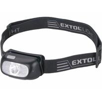 EXTOL - LIGHT tölthető fejlámpa CREE XPG, 130 lm