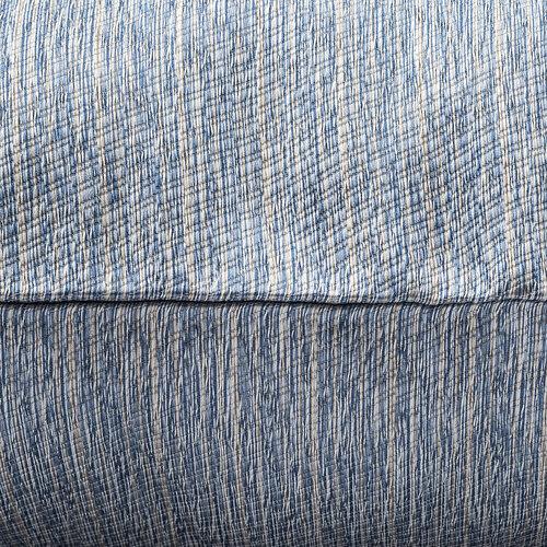 Obliečka na vankúšik Maren modrá, 40 x 40 cm